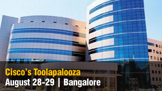 [Event] Gold Sponsor at Cisco's Toolapalooza Aug 2018