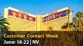 Meet us at Customer Contact Week